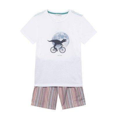 Paul Smith Junior Nennon Pyjama Shorts + T-Shirt-listing