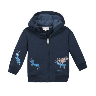 Paul Smith Junior Naod Ant Hoodie with Zip-listing