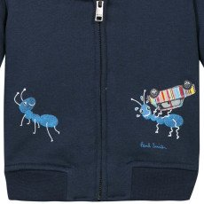 Paul Smith Junior Suéter Cremallera Capucha  Naod-listing