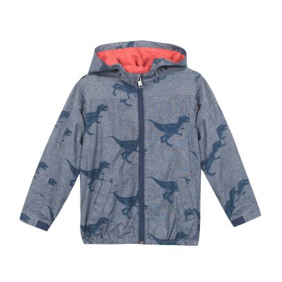 Paul Smith Junior Newton T-Rex Hooded Jacket-listing