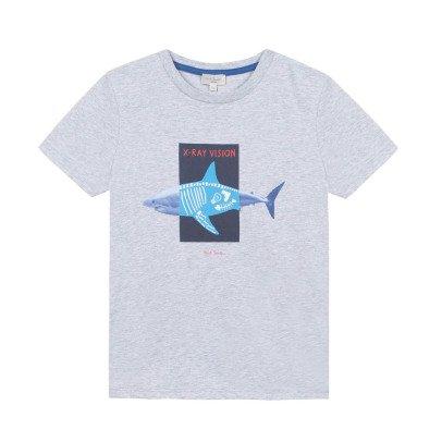 Paul Smith Junior T-shirt fosforescente-listing