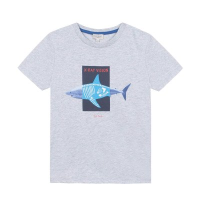 Paul Smith Junior T-shirt Phosphorescent Requin Night-listing