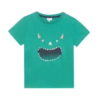 Paul Smith Junior T-shirt Monstre Nygma-listing
