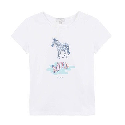 Paul Smith Junior Nadia Zebra T-Shirt-listing