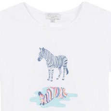 Paul Smith Junior T-shirt Zèbre Nadia-listing