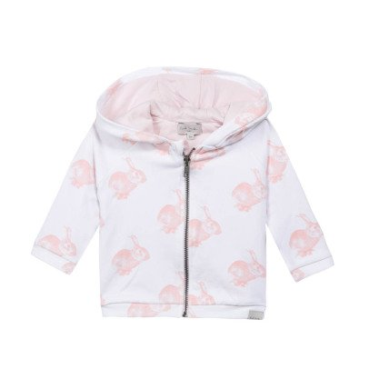 Paul Smith Junior Nessie Rabbit Hoodie with Zip-listing