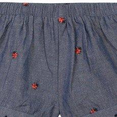 Paul Smith Junior Noisette Ladybird Chambray Shorts-product