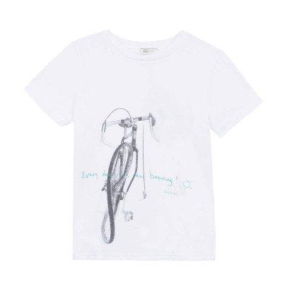 Paul Smith Junior T-Shirt Fahrrad Nice -listing