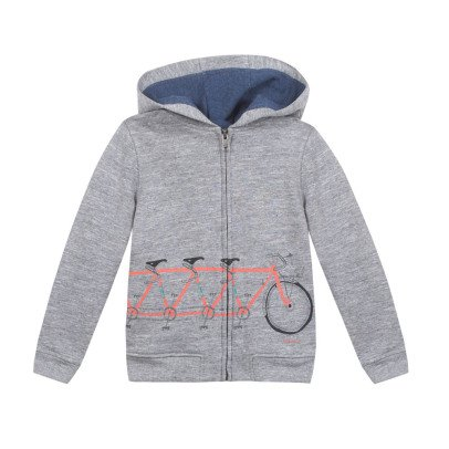 Paul Smith Junior Nicolas Bike Hoodie with Zip-listing