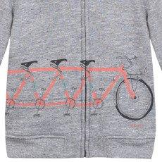 Paul Smith Junior Suéter Cremallera Capucha Bici Nicolas-listing