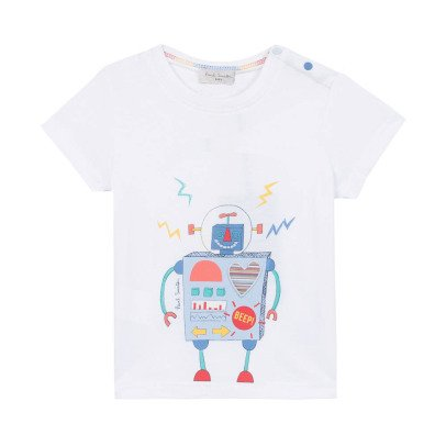 Paul Smith Junior Camiseta Robot Nathalan-listing