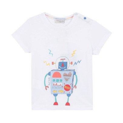 Paul Smith Junior T-shirt Robot Nathalan-listing