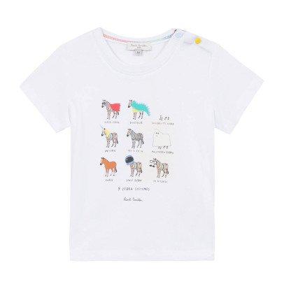 Paul Smith Junior T-Shirt Zebra Narcisse -listing