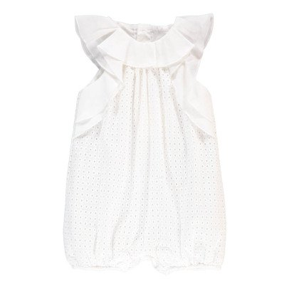 Chloé Embroidered Romper-listing