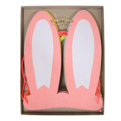 Meri Meri Orejas de conejo de papel - Set de 8-listing