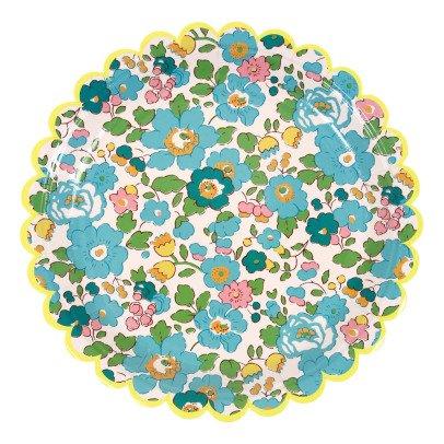 Meri Meri Spring Flower Paper Plates - Set of 12-listing