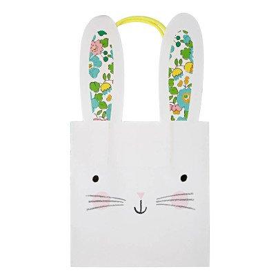 Meri Meri Flower Paper Rabbit Bags - Set of 8-listing