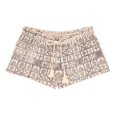 Polder Pretty Pleated Shorts-listing