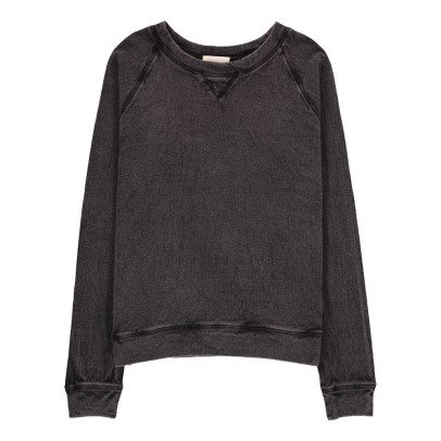 Polder Petra Washed Linen Sweatshirt-listing