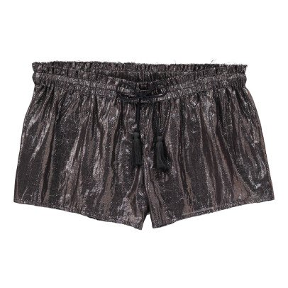 Polder Pretty Lurex Cotton Shorts-listing