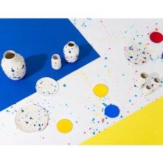Klevering Assiettes colorées à pois - Set de 3-listing