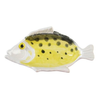 Klevering Anouk Fish Earthenware Plate-listing
