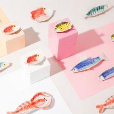 Klevering Teller aus Steingut Fisch Anouk -listing