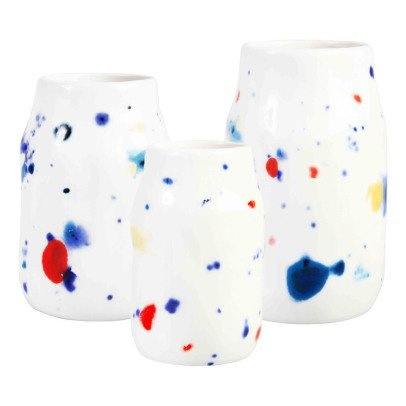 Klevering Polka Dot Vases - Set of 3-listing