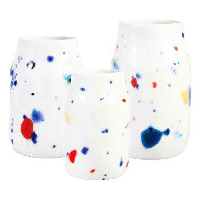 Klevering Vases colorés à pois - Set de 3-listing