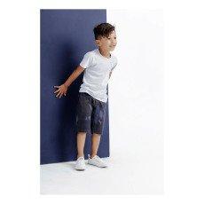 Imps & Elfs Graphic Letter Bermuda Shorts-product