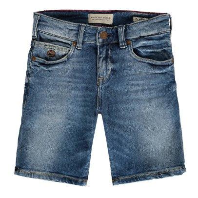 Scotch & Soda Floyd Washed Denim Shorts-listing