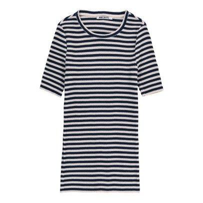 ANECDOTE T-Shirt Côtelé Rayé Tania-listing