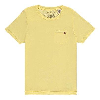 Scotch & Soda T-shirt Slavato Tasca-listing