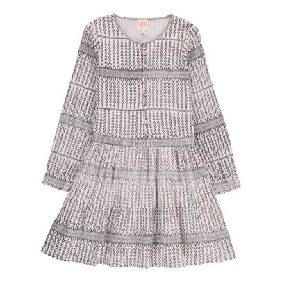 Swildens Teen Qiboua Graphic Dress-listing