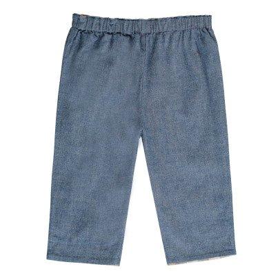 Burberry Pantaloni Risvoltino Tartan-listing