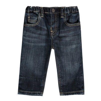 Burberry Jeans mit kariertem Aufschlag -listing