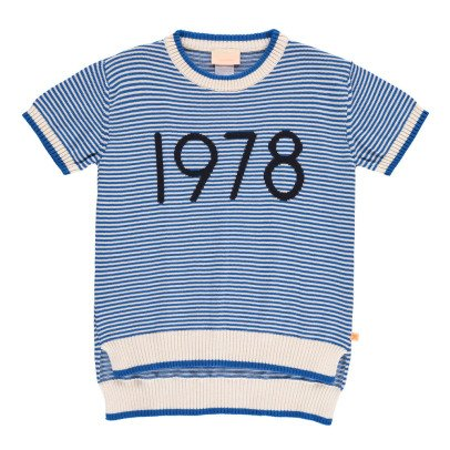 tinycottons Maglione 1978 Blu-listing