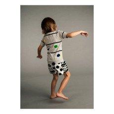 Kidscase Kidscase x Antoine Peters T-Shirt mit Punkten aus Bio-Baumwolle Blake Alf -listing
