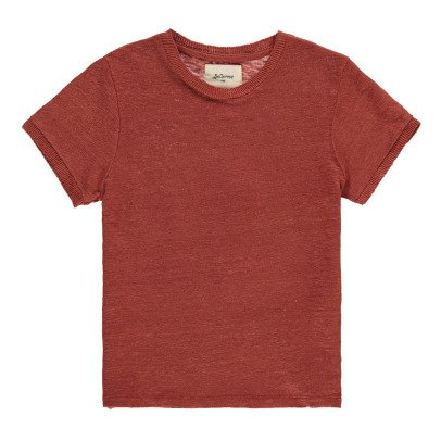 Bellerose T-Shirt aus Leinen Mogo -listing