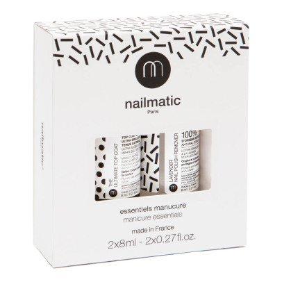 Nailmatic Coffret les Essentiels top coat et dissolvant-listing