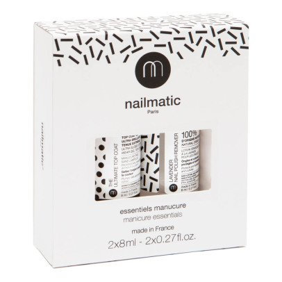 Nailmatic Essentials Kit Top Coat & Remover-listing