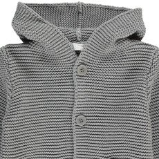 Il Gufo Cardigan Capuche Point Mousse-listing