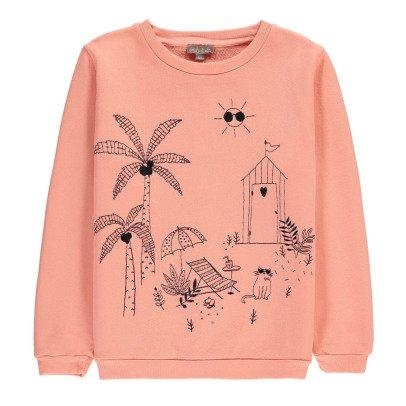 Emile et Ida Garden Embroidered Sweatshirt-listing