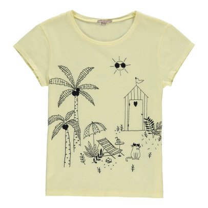Emile et Ida Camiseta Bordado Jardín-listing