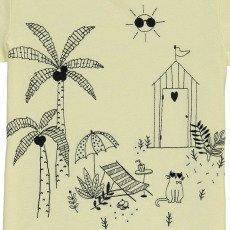 Emile et Ida T-shirt Brodé Jardin-listing