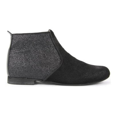 Manuela de Juan  Odeon Leather and Sequin Boots-listing