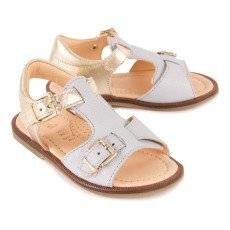 Ocra Leather Sandals-listing
