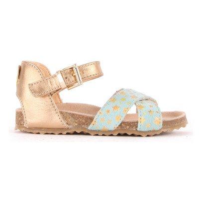 Ocra Star Suede Sandals-listing