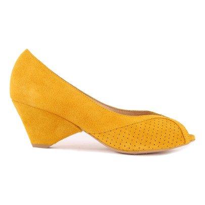 Anonymous Chaussures à Talons Daim Tiffany-listing