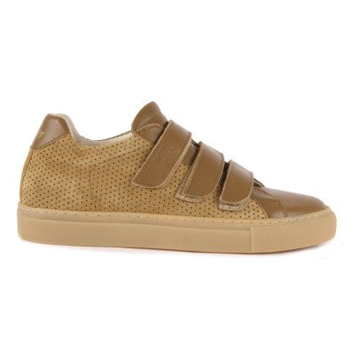Polder Polder x National Standard Velcro Leather Trainers-product